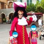 フック船長と写真