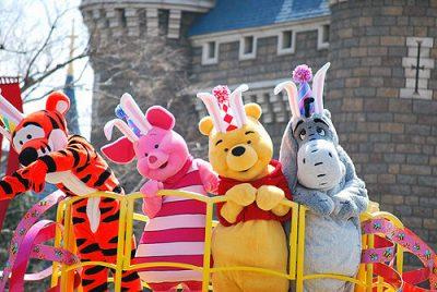 ディズニーランドパレード