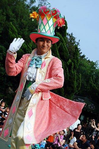 ディズニーランドパレードのダンサー