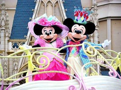 ディズニーランドパレード・ミッキーとミニー