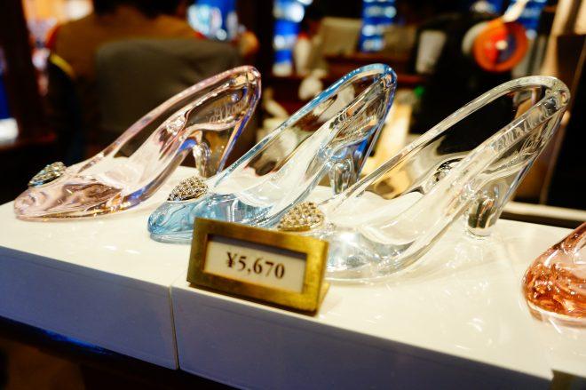 ディズニーリゾートのガラスの靴