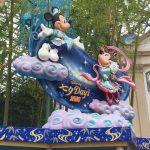 七夕ディズニーのミッキーとミニー