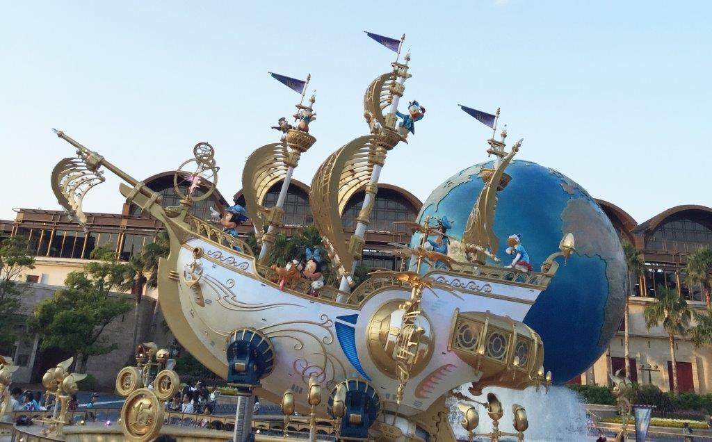 ディズニーシー・ウィッシュの船