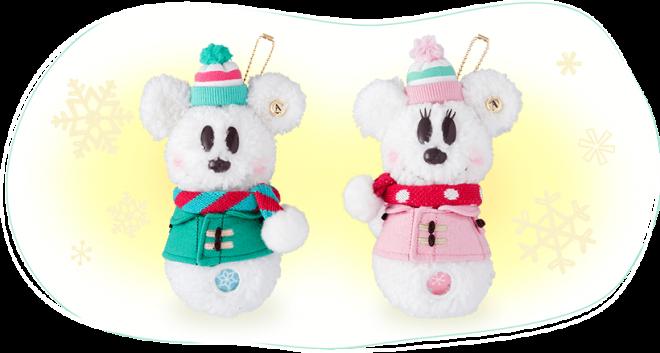 ミッキーとミニーのスノースノー