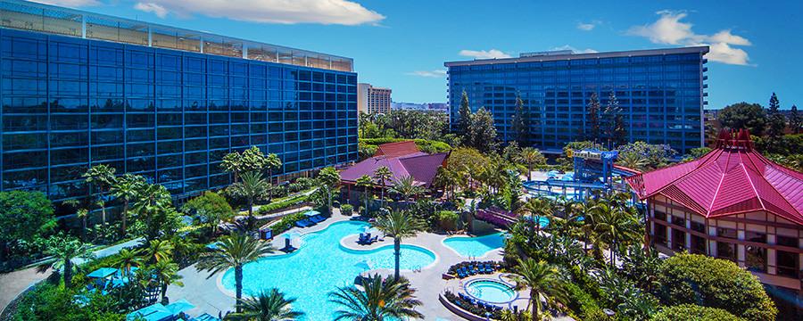 カリフォルニアディズニーホテル