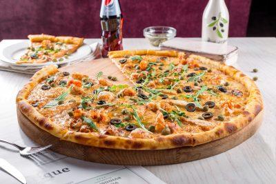 宅配ピザでマイルを貯める