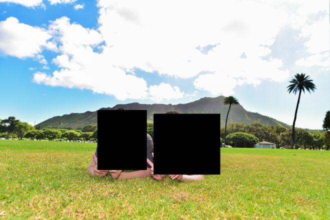 ハワイフォトウェディング・プロジェクトMさん撮影・カピオラニ公園