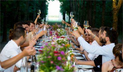 結婚式の乾杯